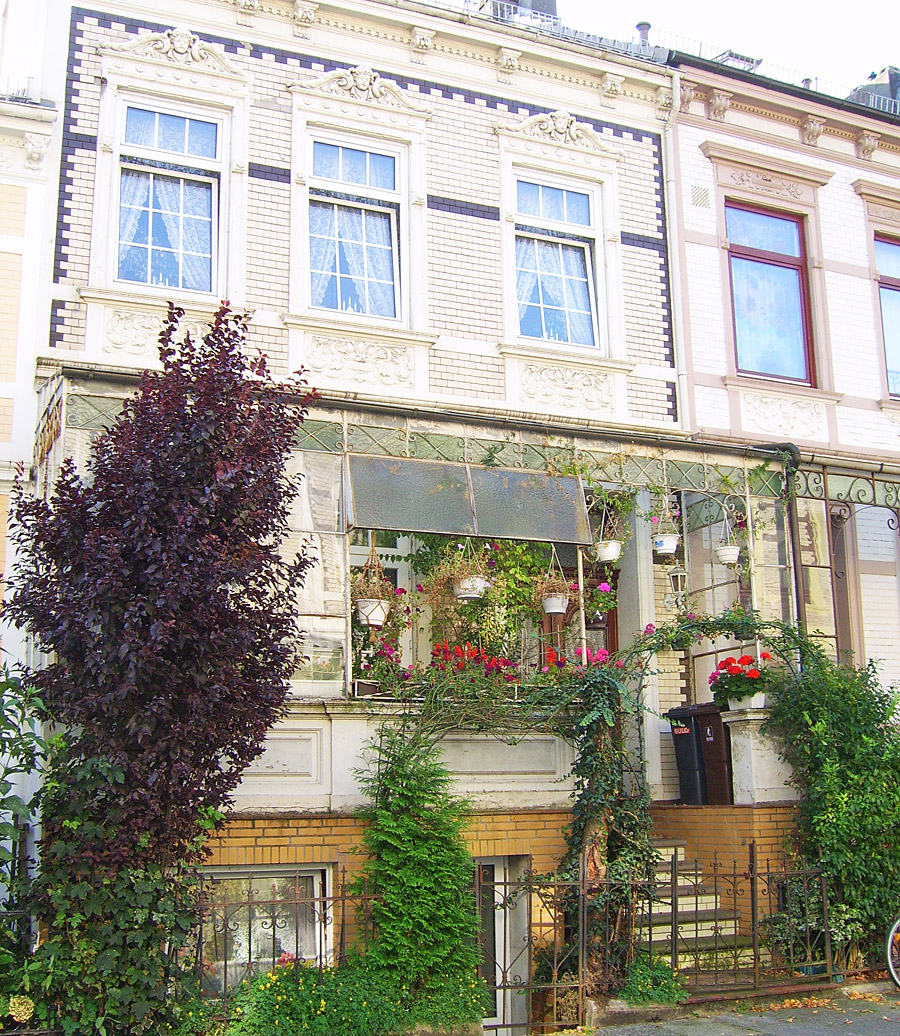 Typical Altbremer Haus with veranda