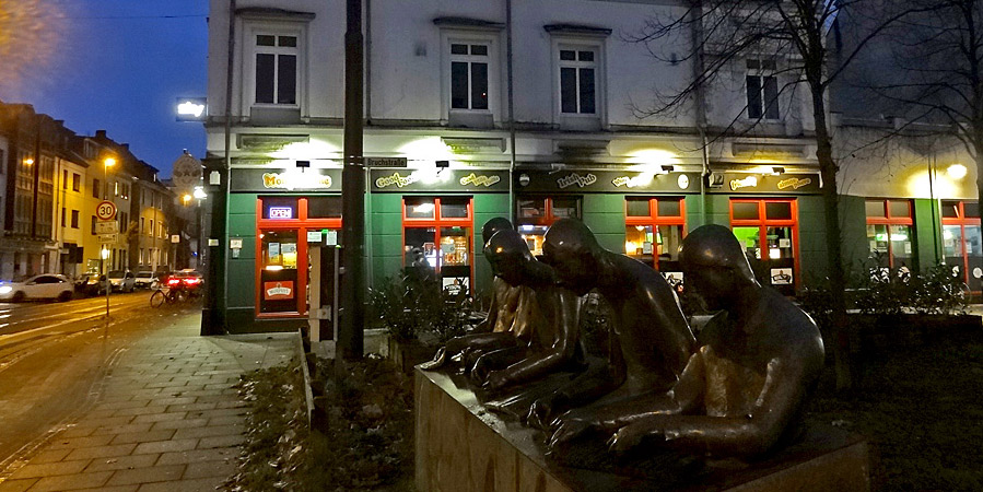 Bronze der Zigarrenmacher in der Bremer Neustadt