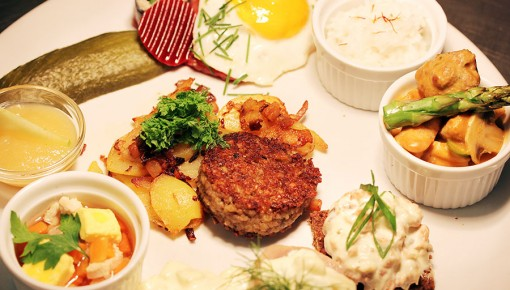 Hanseatic tapas – big flavours, small portions