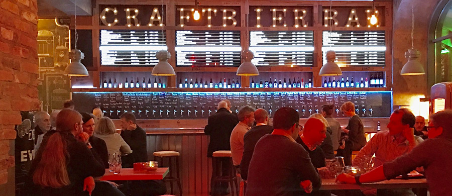 Craft Bier Bar Bremen, Foto: Michael Solms