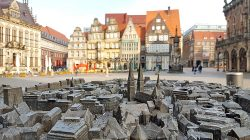 My Bremen: tactile model of the old quarter